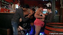 Image: Fat ladies have fun at the party