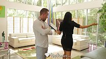 PUREMATURE Busty MILF real este agent Romi Rain fucked by big dick - 9Club.Top