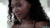 Petite ebony teen first time anal fuck by her boyfriend