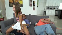 Free download video bokep Liza and Glen hit the bases on Don't Fuck My Da...
