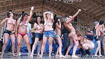wild and so fucking hot contest from iowa biker rally this year preview image
