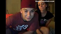 Couple meet on tinder and fuck on webcam - HornyTeenCam.com