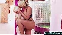 Lesbo Girls (phoenix&piper) In Punished Sex Action movie-30