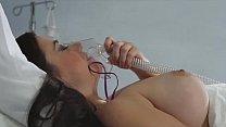 Sexy nurse Kirsten checks Taylor Vixen's temperature
