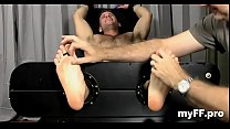Homosexual foot fetish home play