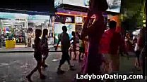 Ladyboy Walking Street Pattaya