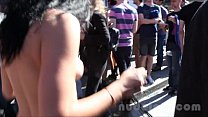 Nude in San Francisco does the Folsom Street Fair 2013 Image