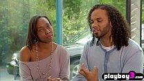 Black swinger couple fucks with other swinger couples
