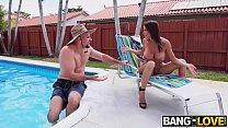 Alexis Fawx Squirts On Pool Guy صورة