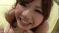 Sultry Japanese honey Suzanna's pretty pussy fi... thumb