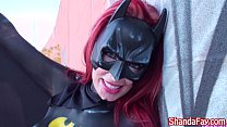 Shanda Fay is Bat Girl the Cock Sucker! thumb
