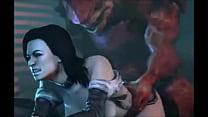 Mass Effect - Wrex - Full Compilation GIF