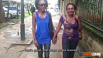 Beautiful Young African Lesbians Make Passionate Love preview image