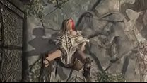 Skyrim Sexy Redhair Forced to Fuck with Evil Draug pornhub video