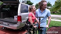 13025 Big ass horny bicyclist Aubrey Sinclair gets fucked preview