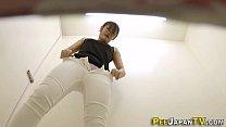XVIDEO トイレで潮吹きオナニーをするお姉さんを隠し撮り