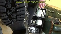 UNDER-SHOESOur savage Goddess Miss Claire extreme trampling and CBT in boots with nails on the sole https://www.clips4sale.com/studio/424/a-under-shoes-clip-store