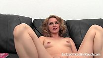 13788 Blonde Stripper First Anal on Casting Couch preview