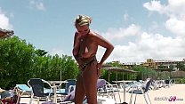 STRANGER SEDUCE GERMAN HUGE TITS MILF TO FUCK ON HOLIDAY
