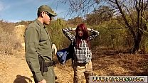 Police Tease And Fake Cop Oficer Of Patrol Agrees To Help Redhaired