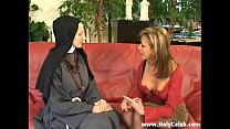 Fisting the Nun Wild and Hard video