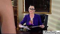 Office Girl (ariella danica) With Big Melon Tits Love Sex movie-17