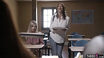 Teacher demands sex from teen student and her stepmom preview image