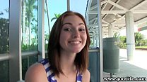 POVLife Pale redhead pick up teen facialized Thumbnail