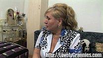 mature granny screams with delight video