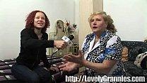 mature granny screams with delight Vorschaubild