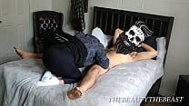 PAWG in Yoga Pants & White Ankle Socks Sucking Cock Vorschaubild
