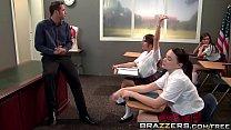 Brazzers - Big Tits At School -  Smart Pussy Scene Starring Rachel Roxxx And Danny Mountain