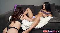 Teen girl has hot lesbian sex with her best friends mom thumbnail