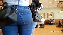 bbwtubecentral.com TEEN PAWG PERFECT BOOTY IN JEANS