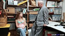 10514 Teen and dad busted for shoplifting but find a way out preview