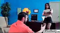 (Katrina Jade) Big Tits Sluty Girl In Hardcore Sex In Office clip-14