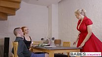 12780 Babes - Step Mom Lessons - Sneaky Boy starring Ella Hughes and Rebecca Moore and Sam Bourne clip preview