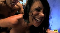mexican big tits - Mason Moore Takes A Cumshot And Big Dick Between Her Boobies thumbnail