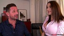French Pornstar Clanddi Jinkcego Rides a Monster Cock thumbnail