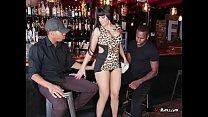 Mature Waitress Mercedes Carrera Blows Her Customers