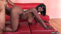 Curvaceous, ebony fuck doll, Stacy Adams got hammered