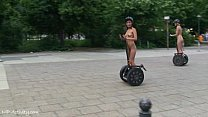 Agnes B. Naked In Public Streets Preview