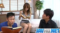 Japanese Av Model Fucks Hard In Raw Asian Threesome Porn