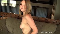 Hot Star Vibrating Her Pussy