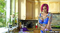 Anna Bell Peaks swallows Bill Baileys thick cock - 9Club.Top