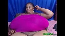 Huge Tits BBW Black Ebony Porn Video