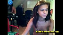 Young Girls Playing on 18th Birthday - fatbootycams.com