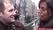 19837 Stockinged dutch whore doggystyled by tourist preview