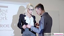 Babes - Office Obsession - Your Attention, Please  starring  Karol Lilien and Charlie Dean clip preview image