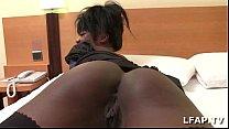 Bonne black francaise se fait defoncer dans un chambre d hotel video